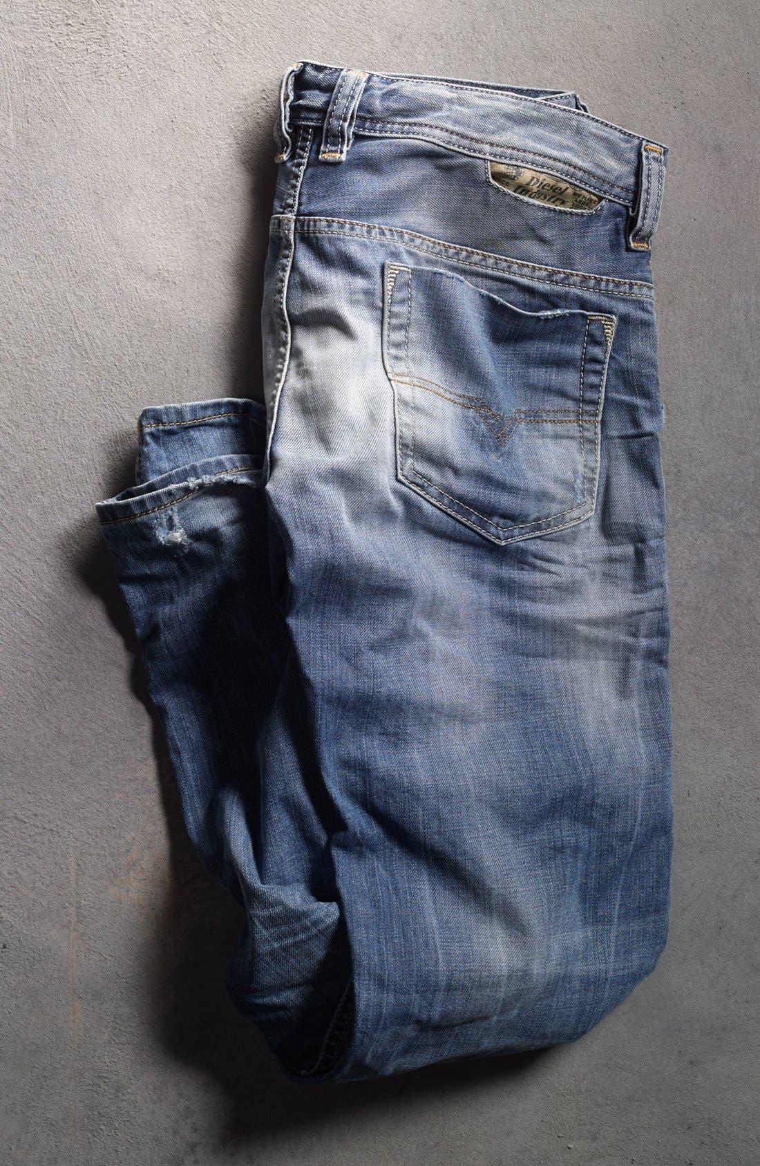 Alternate Image 5  - DIESEL® 'Safado' Slim Fit Jeans (826D)