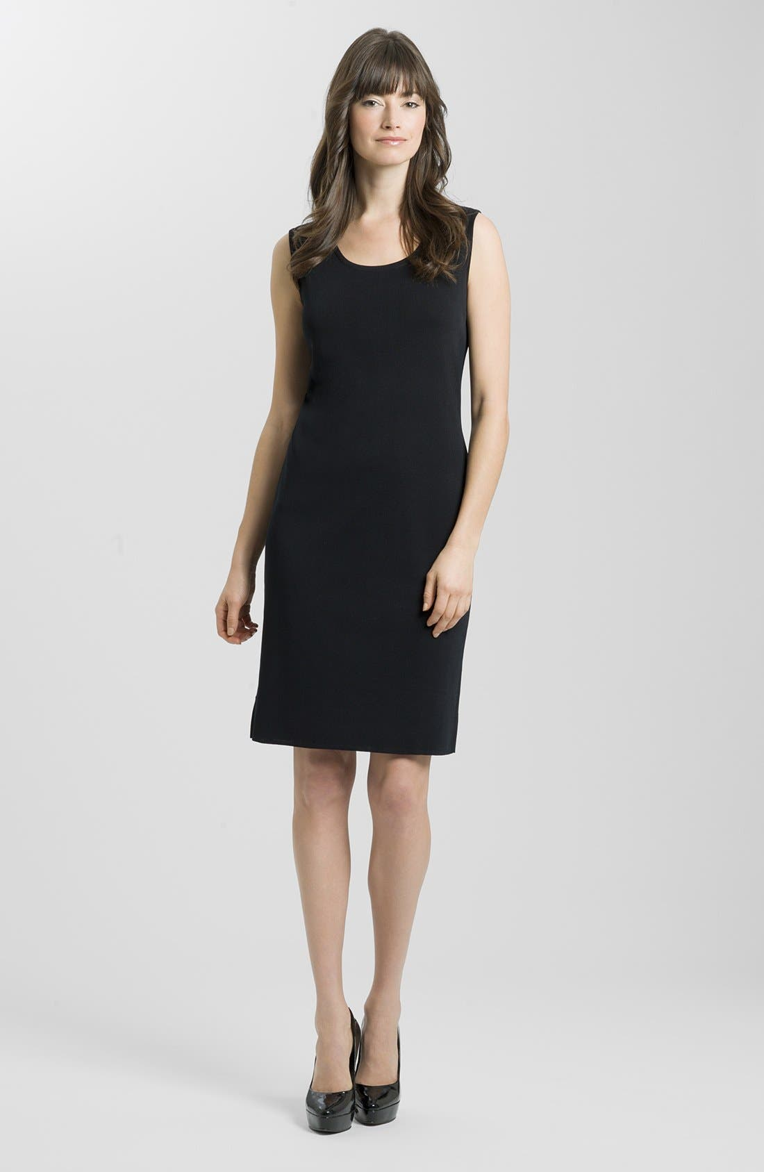 MING WANG Knit Tank Dress
