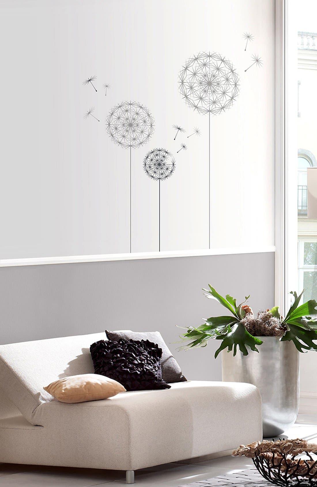 Alternate Image 1 Selected - Wallpops 'Dandelion' Wall Art