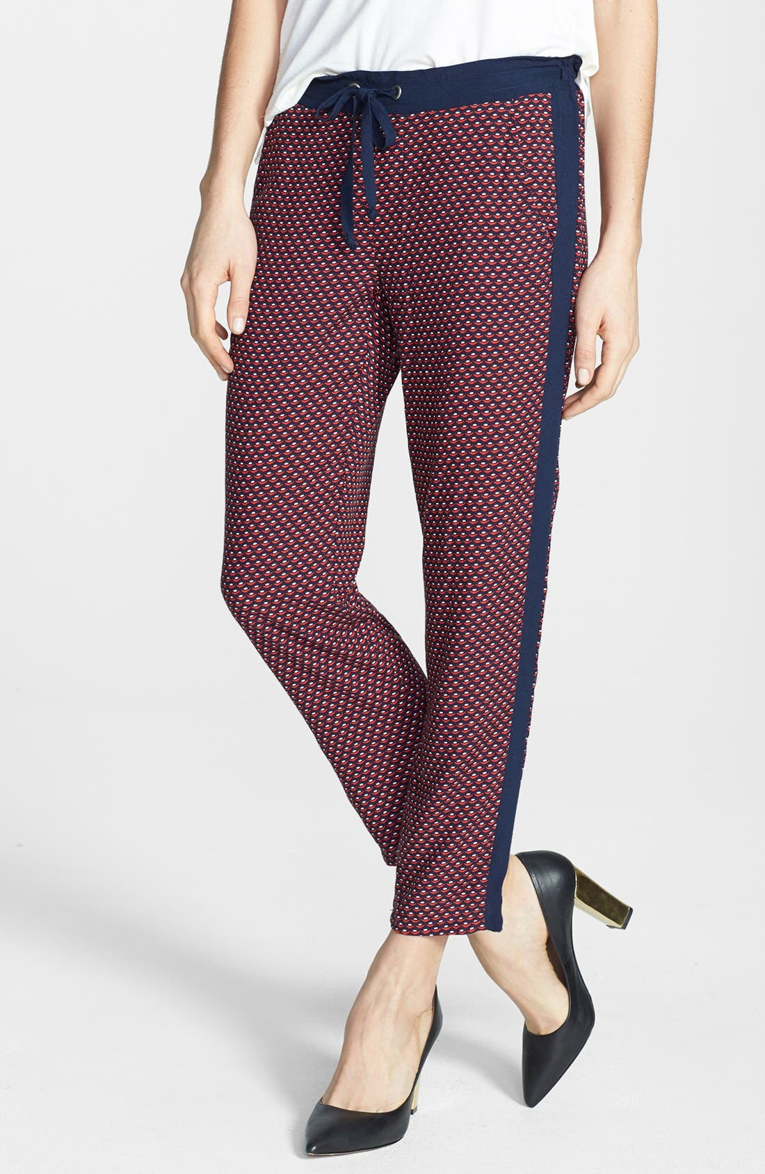 Alternate Image 1 Selected - Splendid Ditsy Geo Print Track Pants