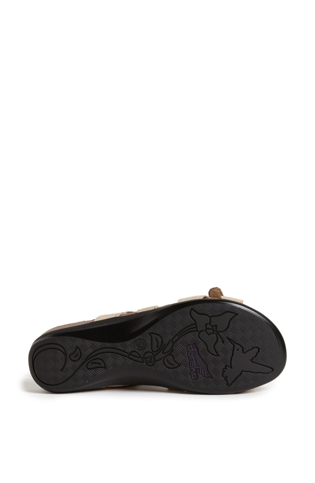Alternate Image 4  - Dansko 'Jameson' Leather Sandal