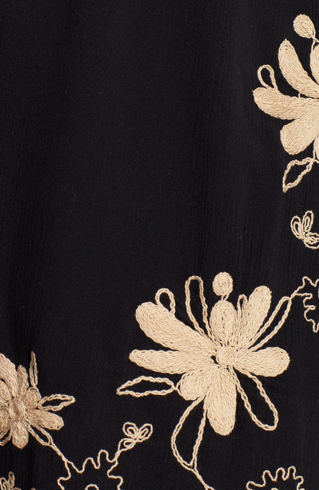 Alternate Image 3  - Free People Embroidered Gauze Dress