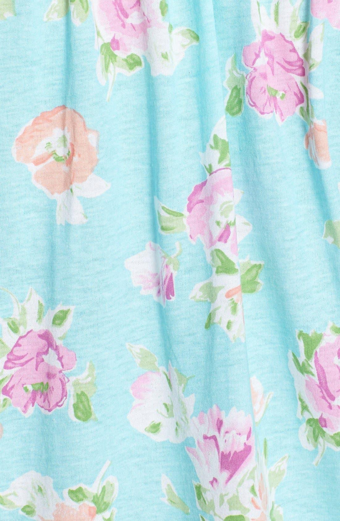 Alternate Image 3  - Lauren Ralph Lauren Knit Jersey Nightgown