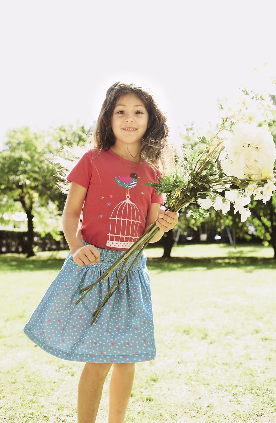 Alternate Image 2  - Mini Boden Patchwork Appliqué Tee (Toddler Girls, Little Girls & Big Girls)(Online Only)