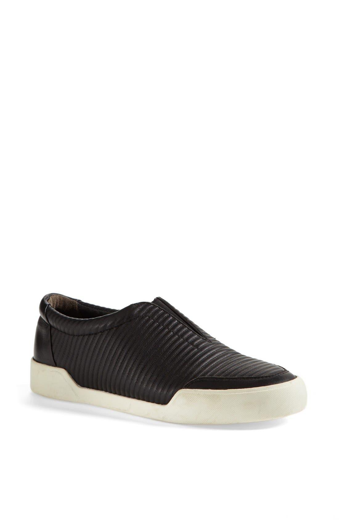 'Morgan' Slip-On Sneaker,                         Main,                         color, Black