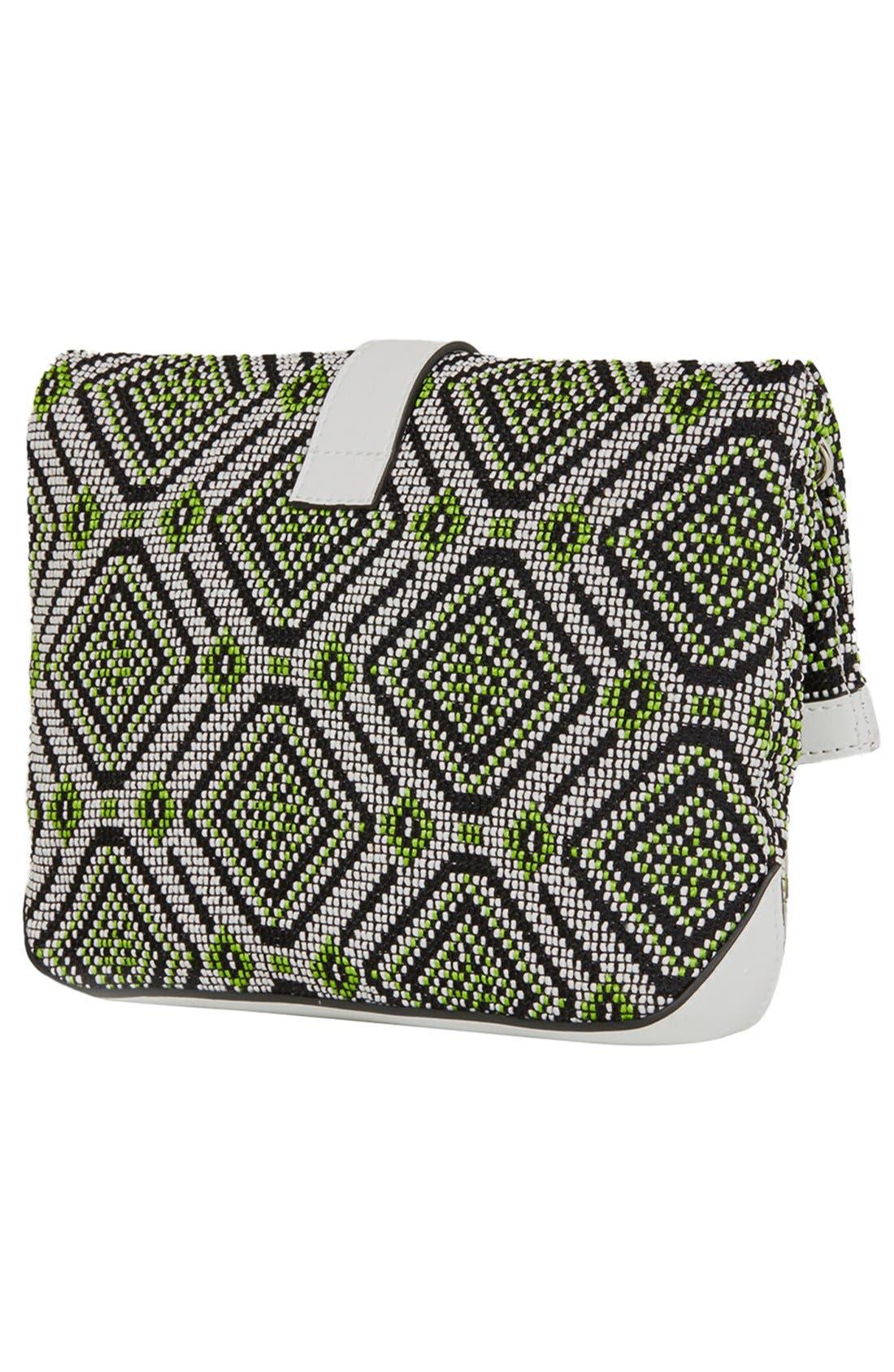 Alternate Image 4  - Topshop Tapestry Crossbody Bag
