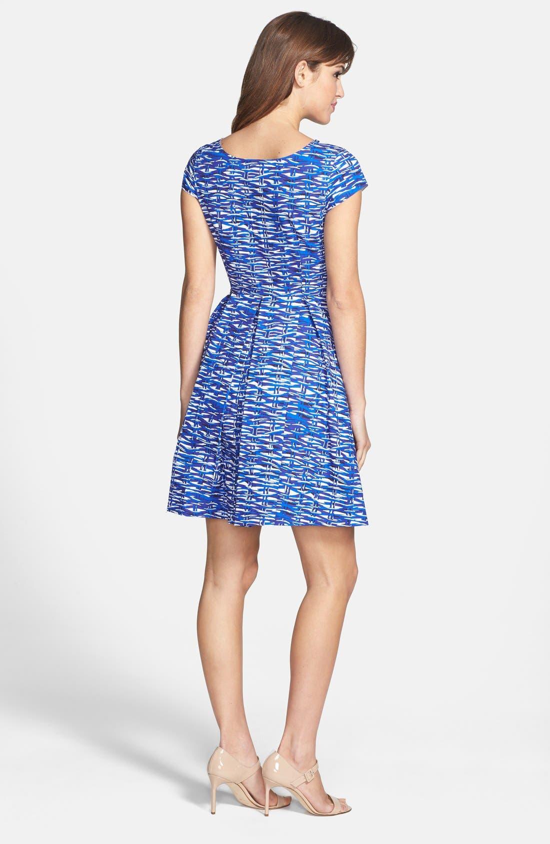 Alternate Image 3  - Felicity & Coco Print Cotton Fit & Flare Dress (Regular & Petite) (Nordstrom Exclusive)
