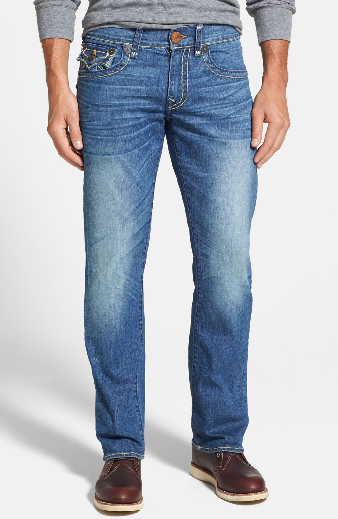Alternate Image 2  - True Religion Brand Jeans 'Ricky' Relaxed Fit Jeans (Azwl Malibu Cruise)