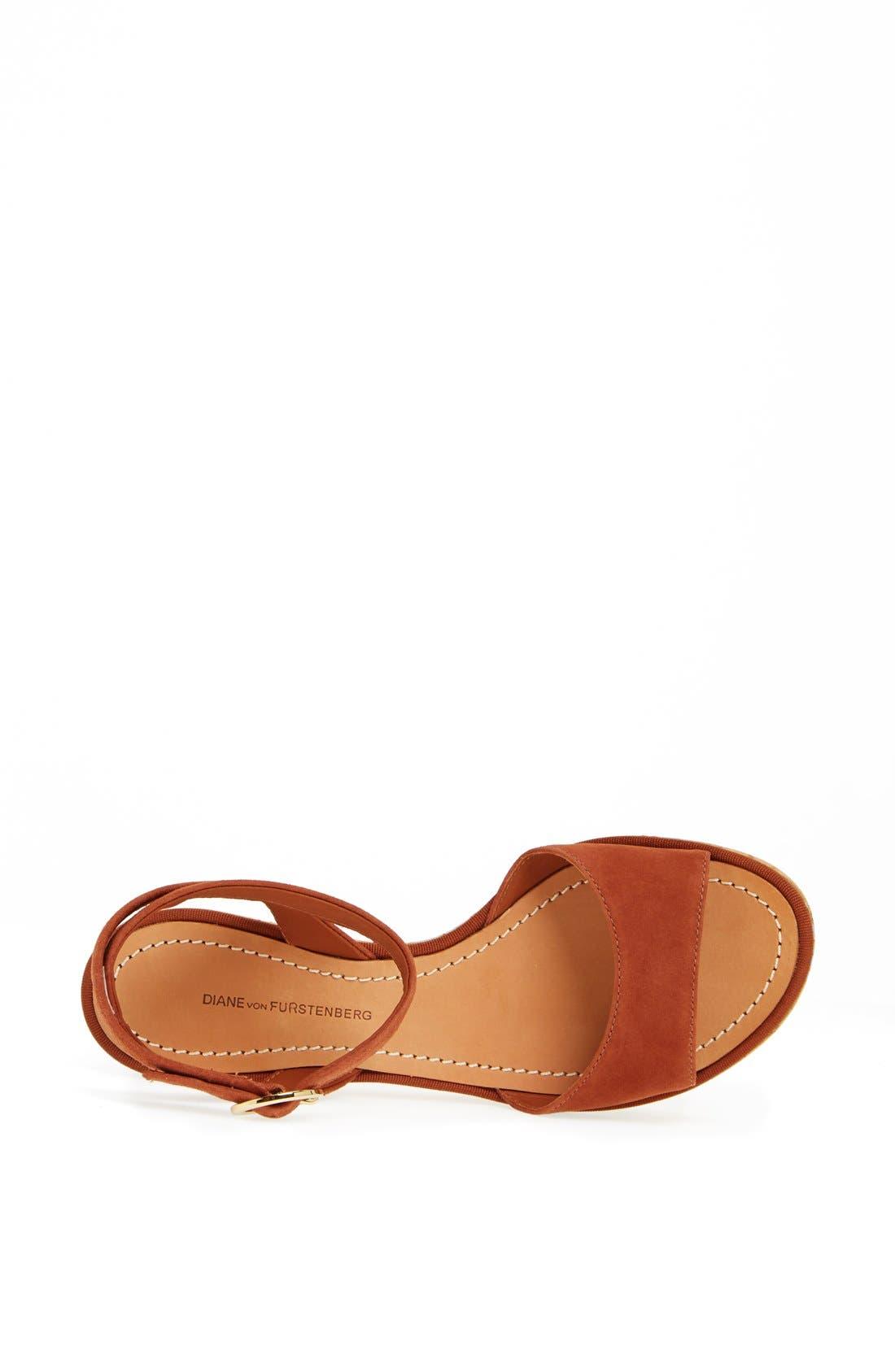 Alternate Image 4  - Diane von Furstenberg 'Odelia' Sandal (Online Only)