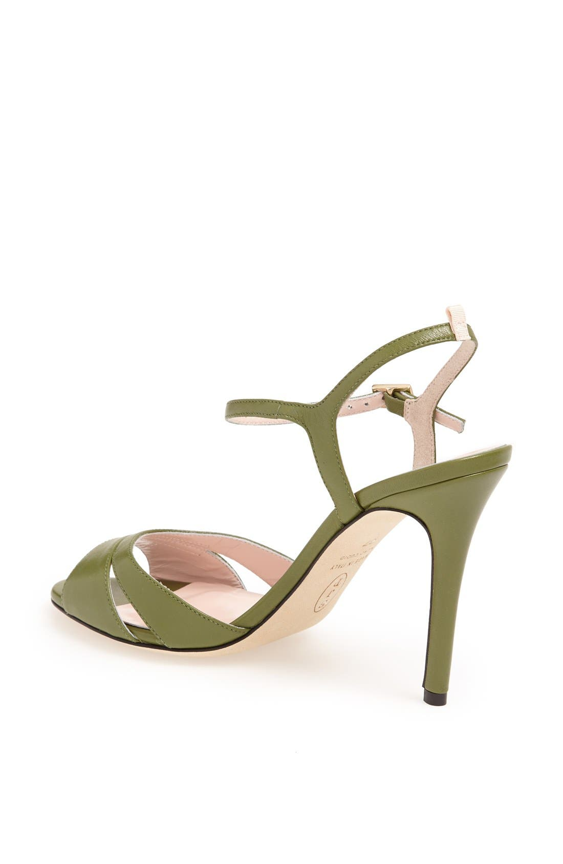 SJP 'Anna' Sandal,                             Alternate thumbnail 2, color,                             Green