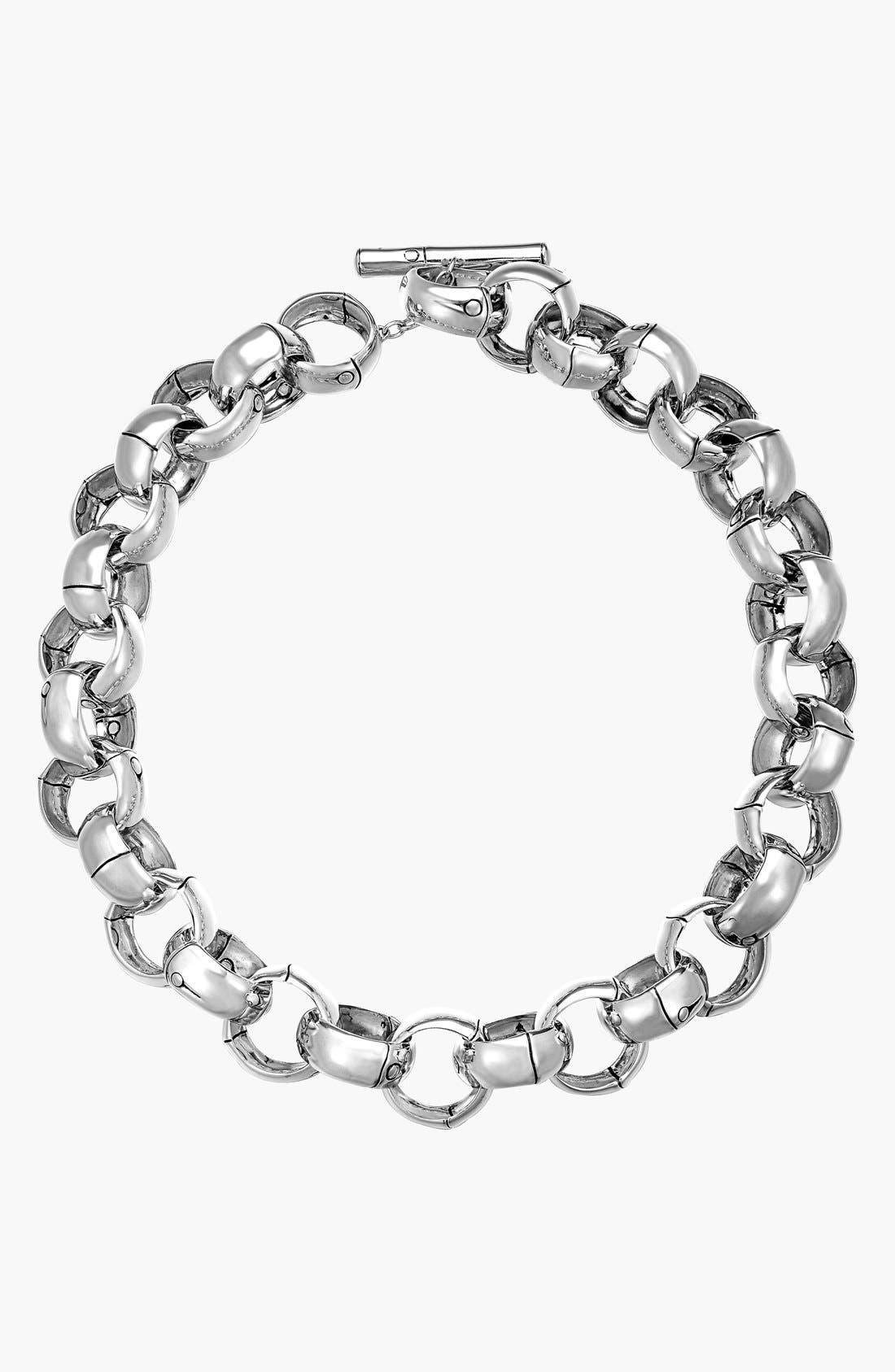 Alternate Image 1 Selected - John Hardy 'Bamboo' Link Necklace