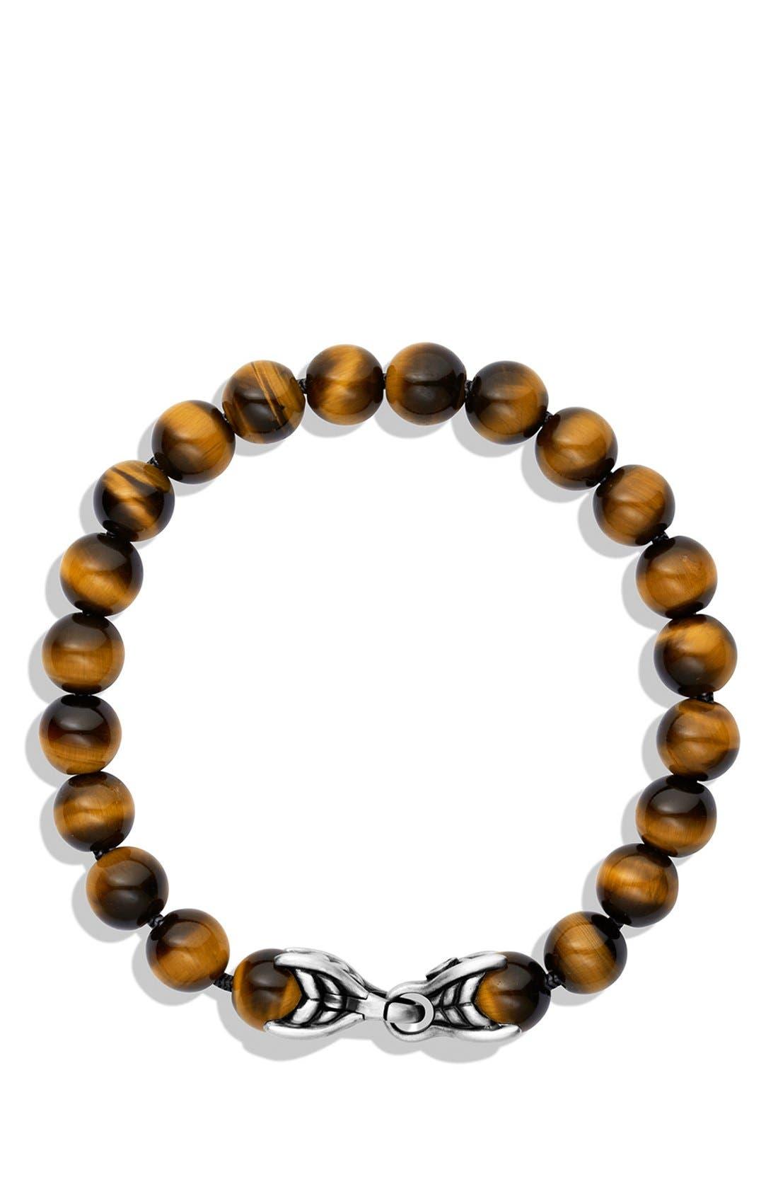 'Spiritual Beads' Bracelet,                             Alternate thumbnail 2, color,                             Tiger Eye