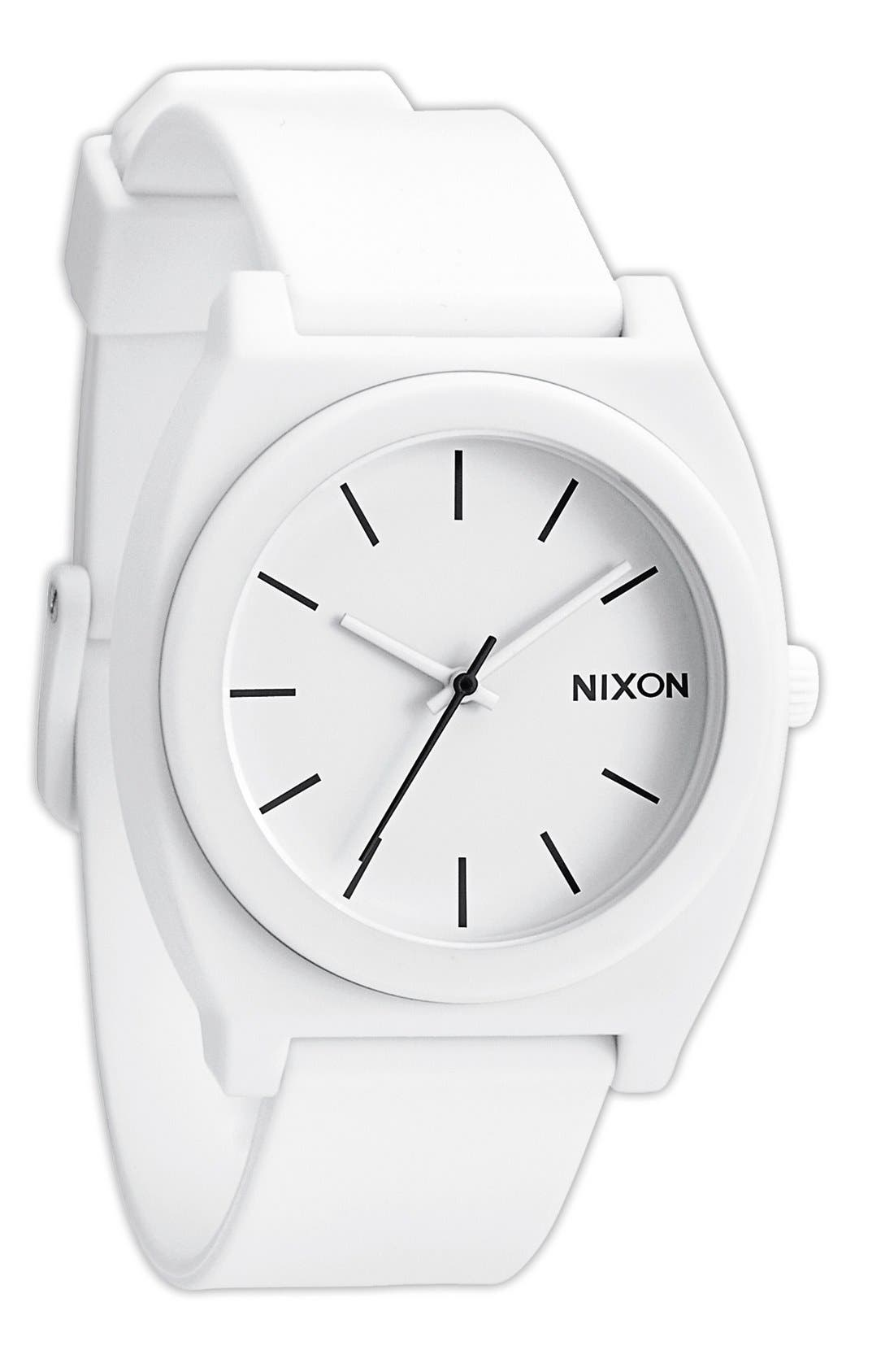 Alternate Image 1 Selected - Nixon 'The Time Teller' Watch, 40mm
