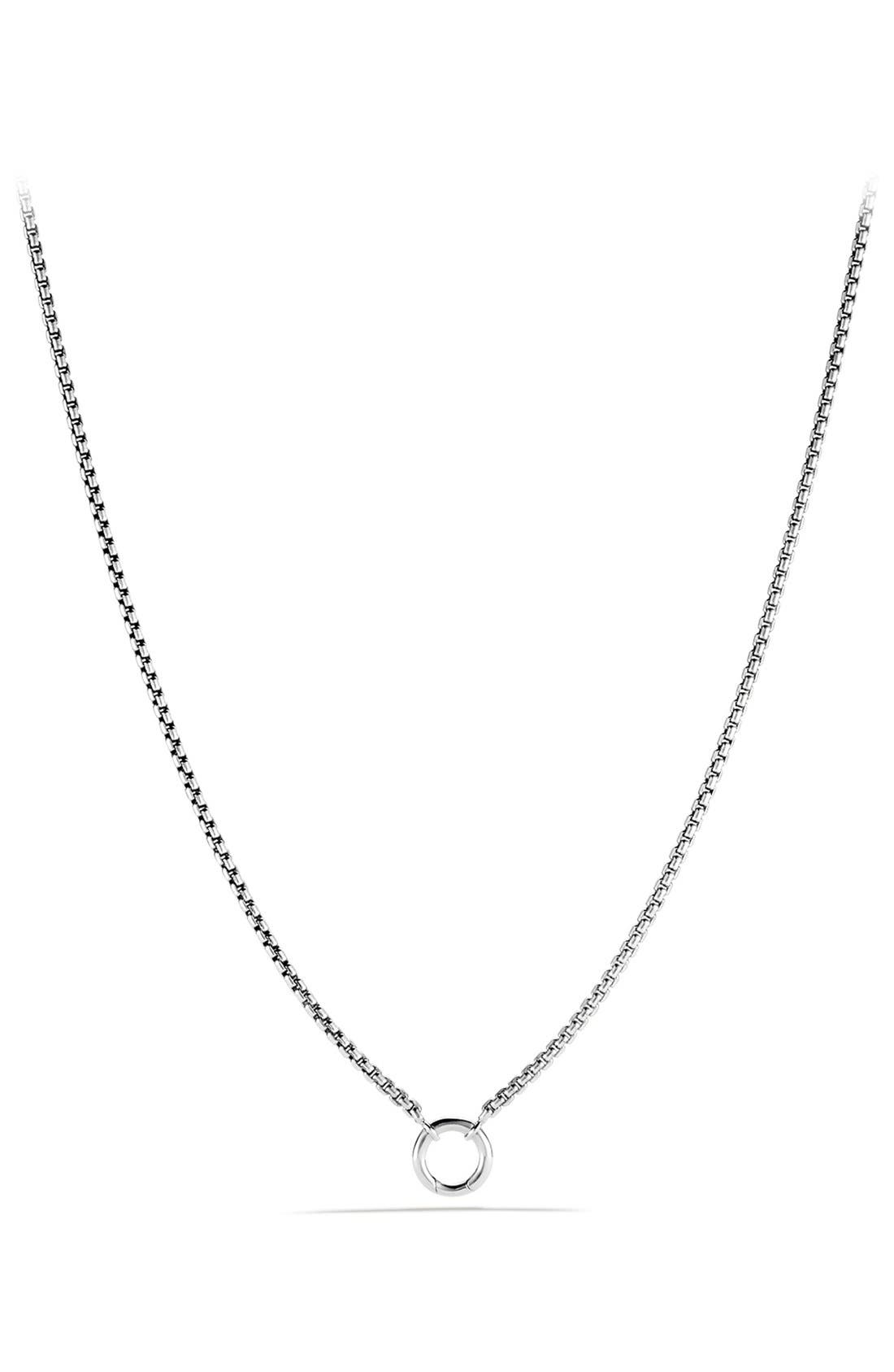 Alternate Image 1 Selected - David Yurman 'Chain' Charm Chain Necklace
