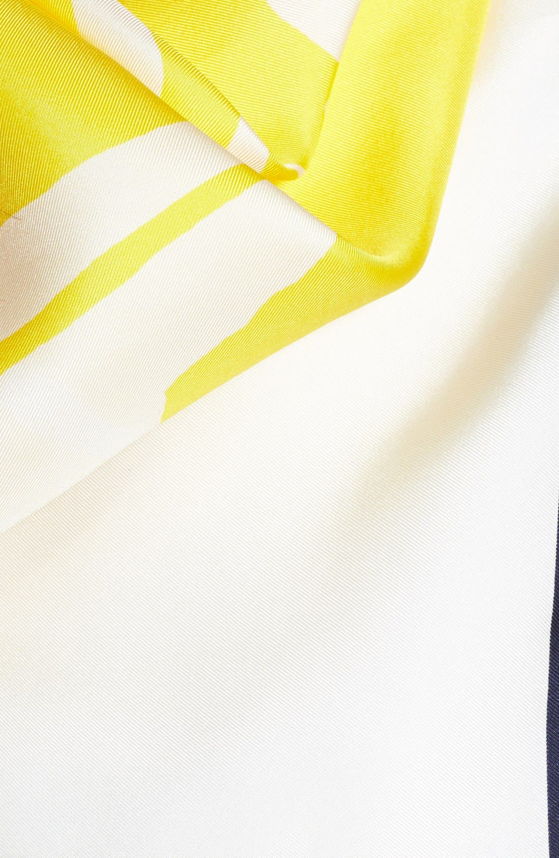 Alternate Image 3  - kate spade new york 'lemon slice' silk scarf