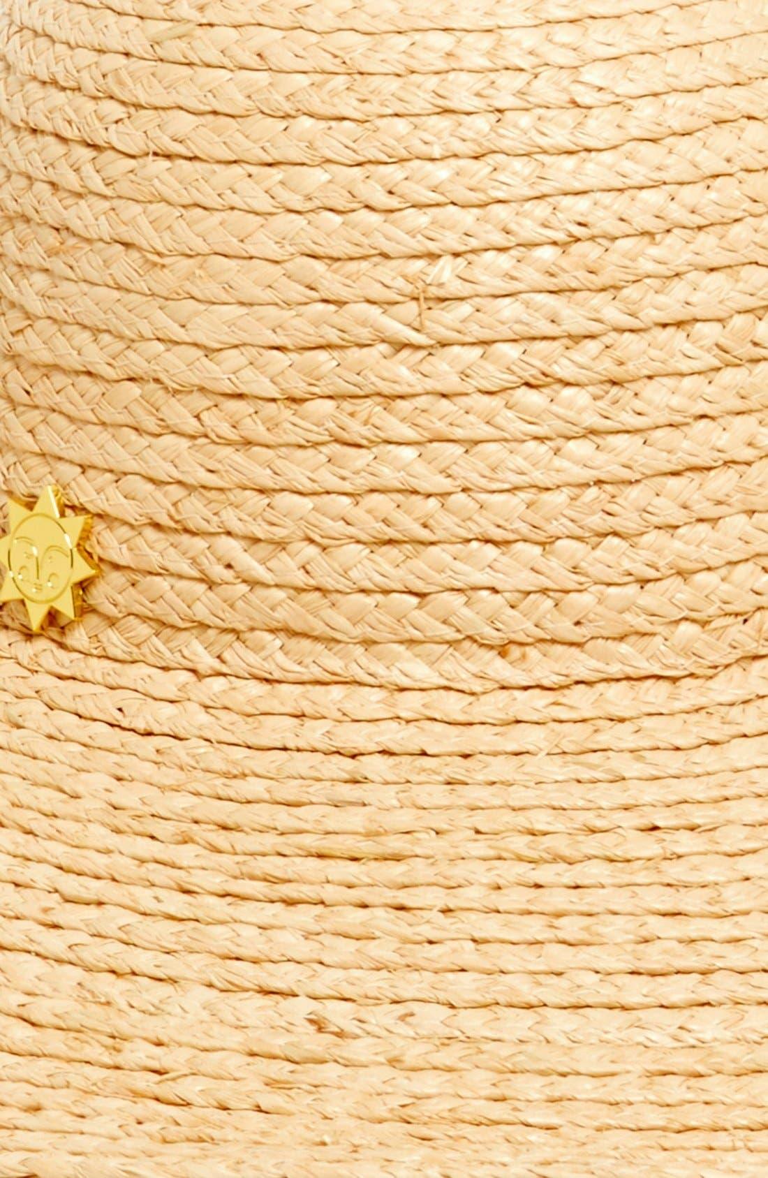 Alternate Image 2  - Jonathan Adler Colorblock Stripe Floppy Hat