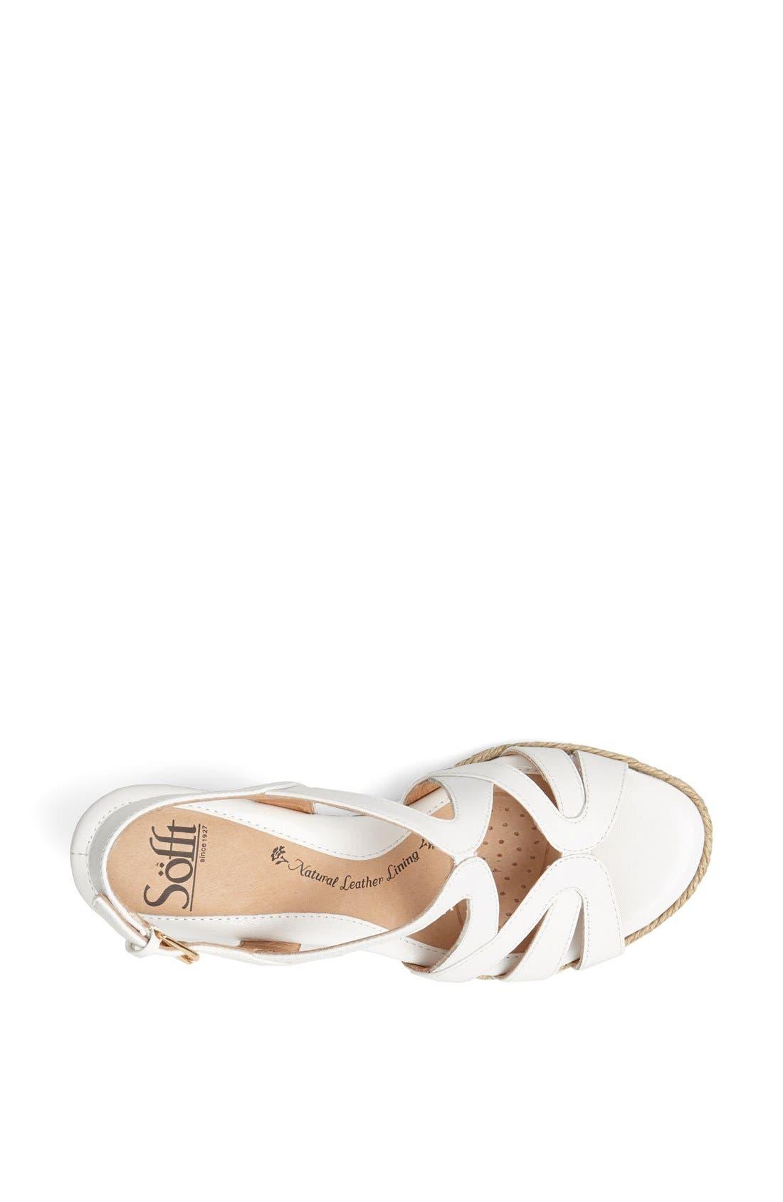 Alternate Image 3  - Söfft 'Ilene' Wedge Sandal