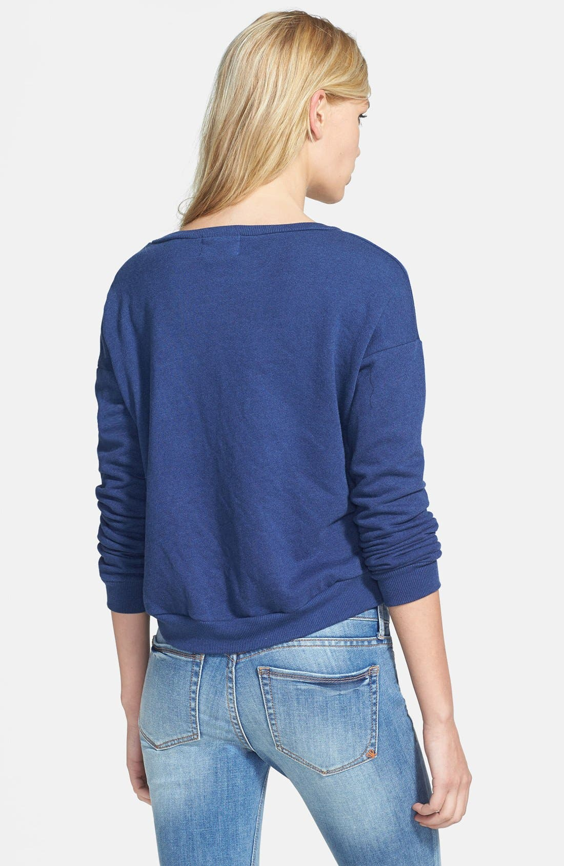 Alternate Image 2  - Madison & Berkeley 'Darling' Boatneck Knit Sweatshirt