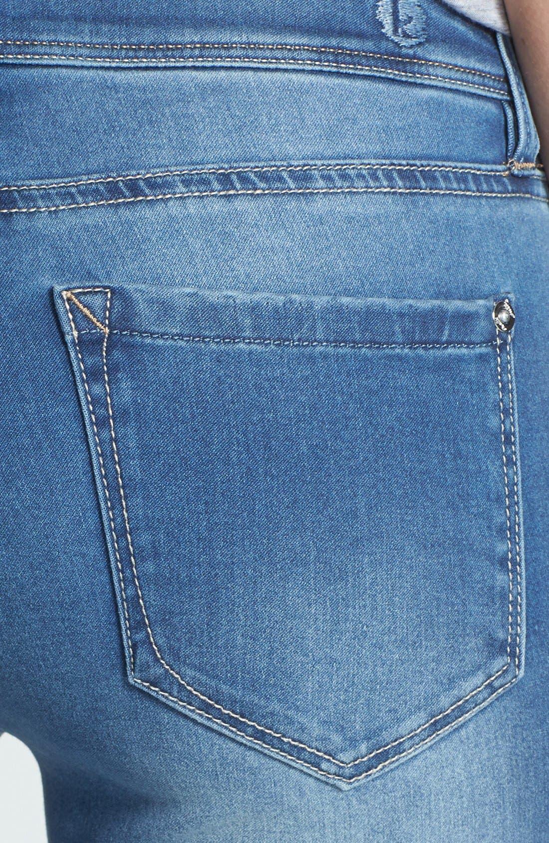 Alternate Image 3  - kensie Skinny Bootcut Jeans (Layla)