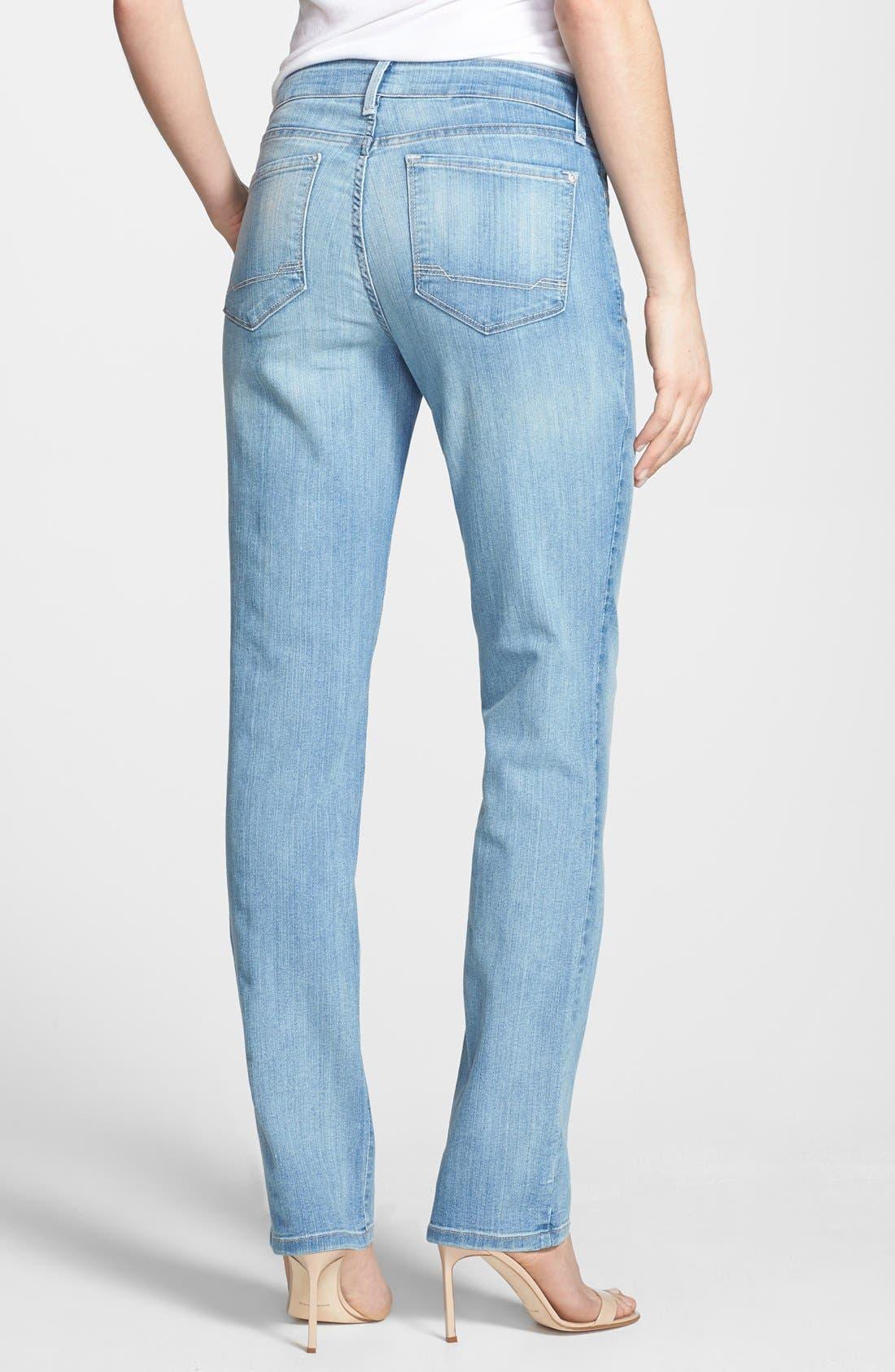 Alternate Image 2  - NYDJ 'Sheri' Stretch Skinny Jeans (Manhattan Beach)