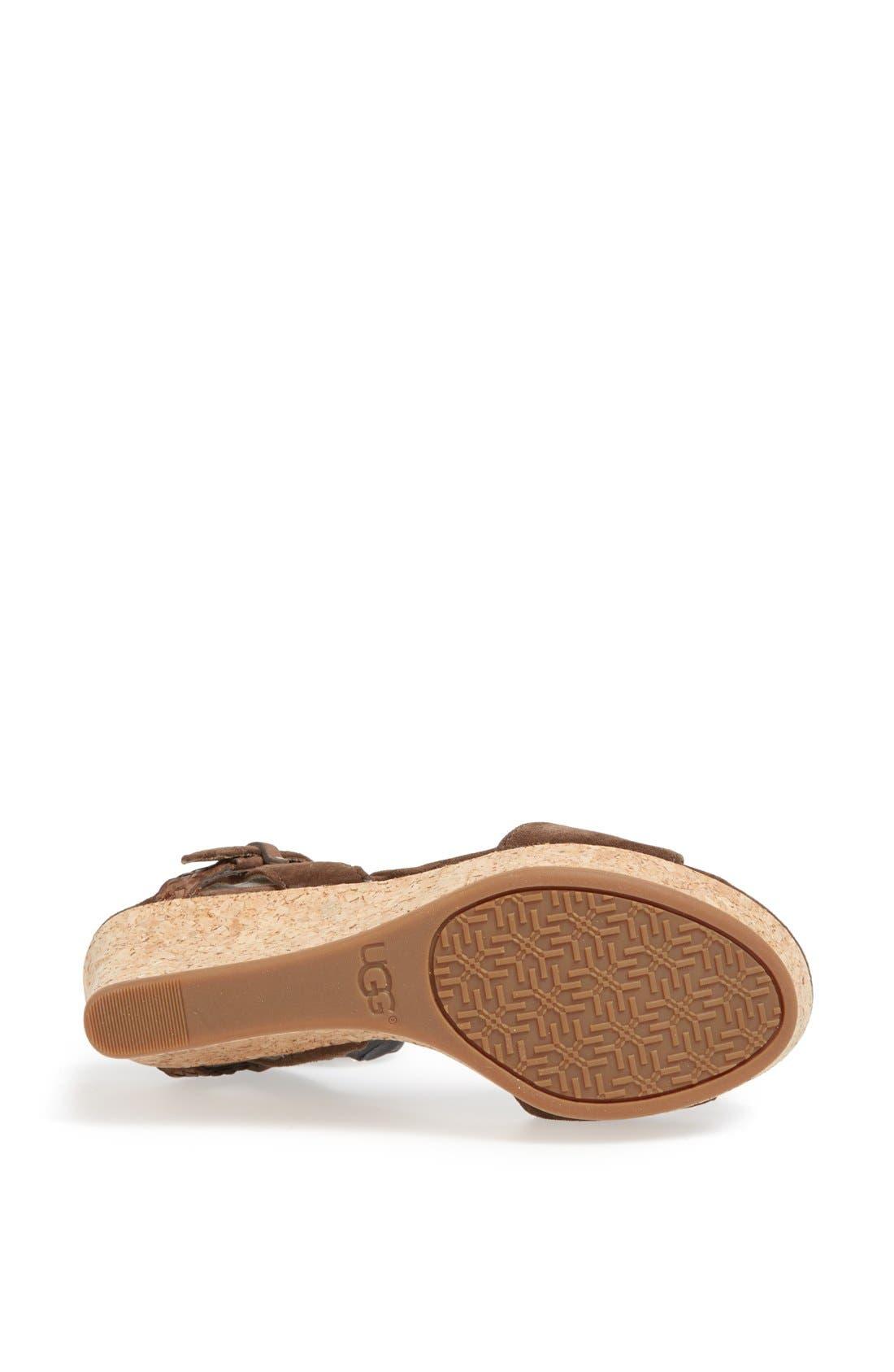 Alternate Image 4  - UGG® Australia 'D'Alessio' Sandal