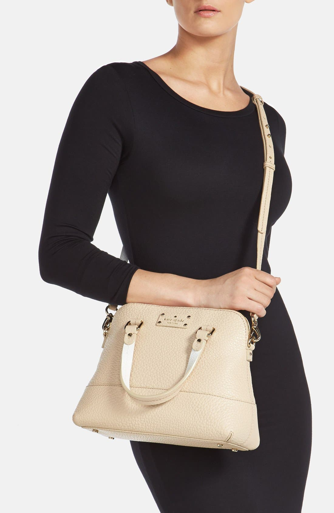 Alternate Image 2  - kate spade new york 'small grove court maise' leather satchel