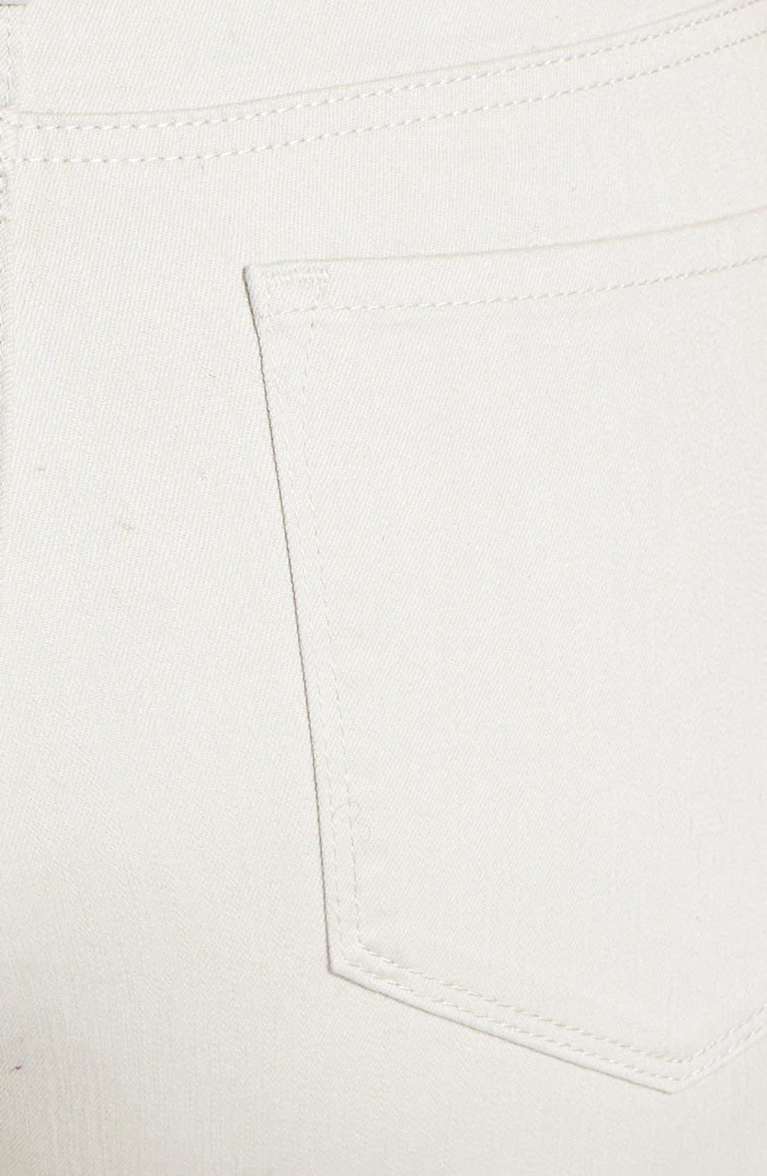 Alternate Image 3  - NYDJ 'Audrey' Stretch Ankle Straight Leg Pants (Plus Size)