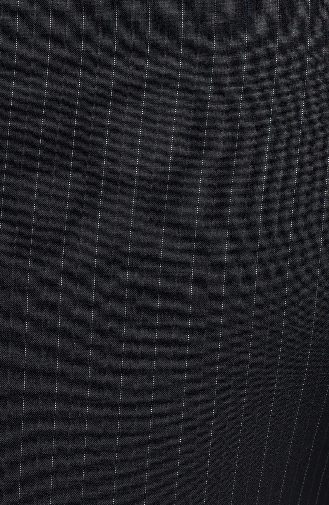 Alternate Image 5  - Dolce&Gabbana 'Martini' Black Stripe Wool Suit