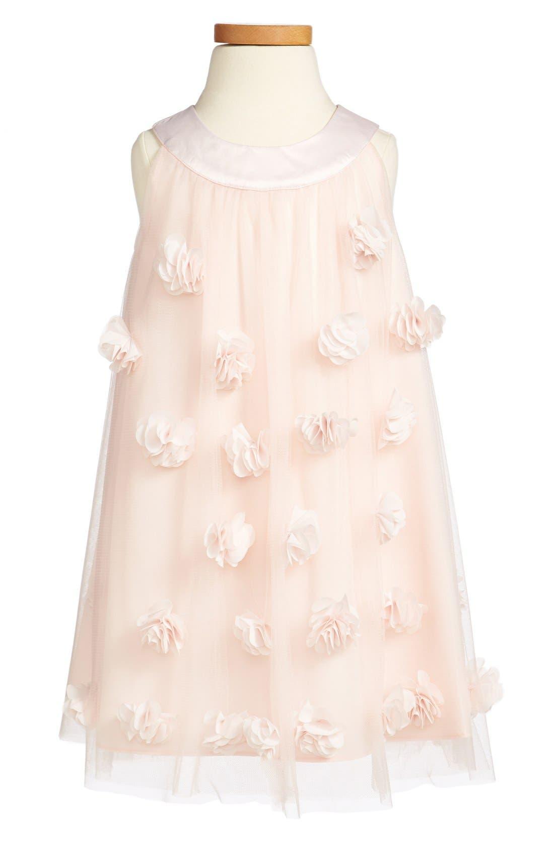 Alternate Image 1 Selected - Us Angels Embellished Dress (Baby Girls & Toddler Girls) (Online Only)