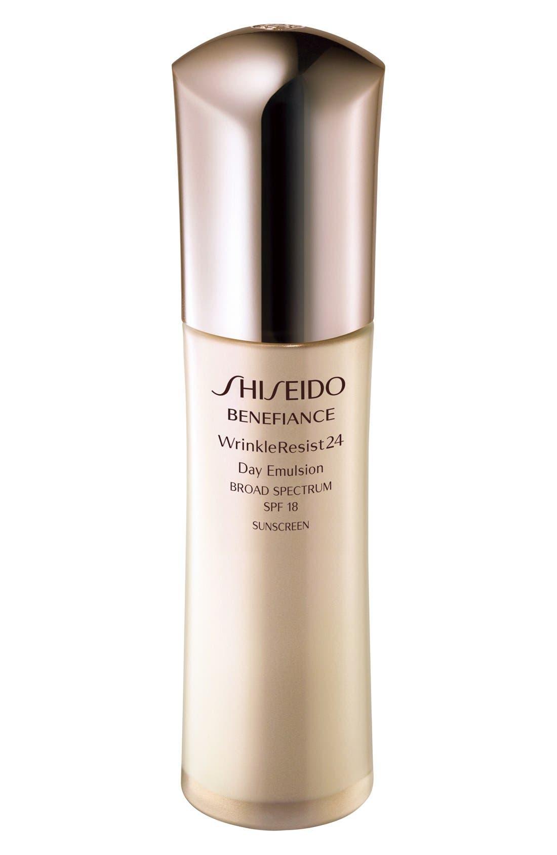 Shiseido 'Benefiance WrinkleResist24' Day Emulsion SPF 18