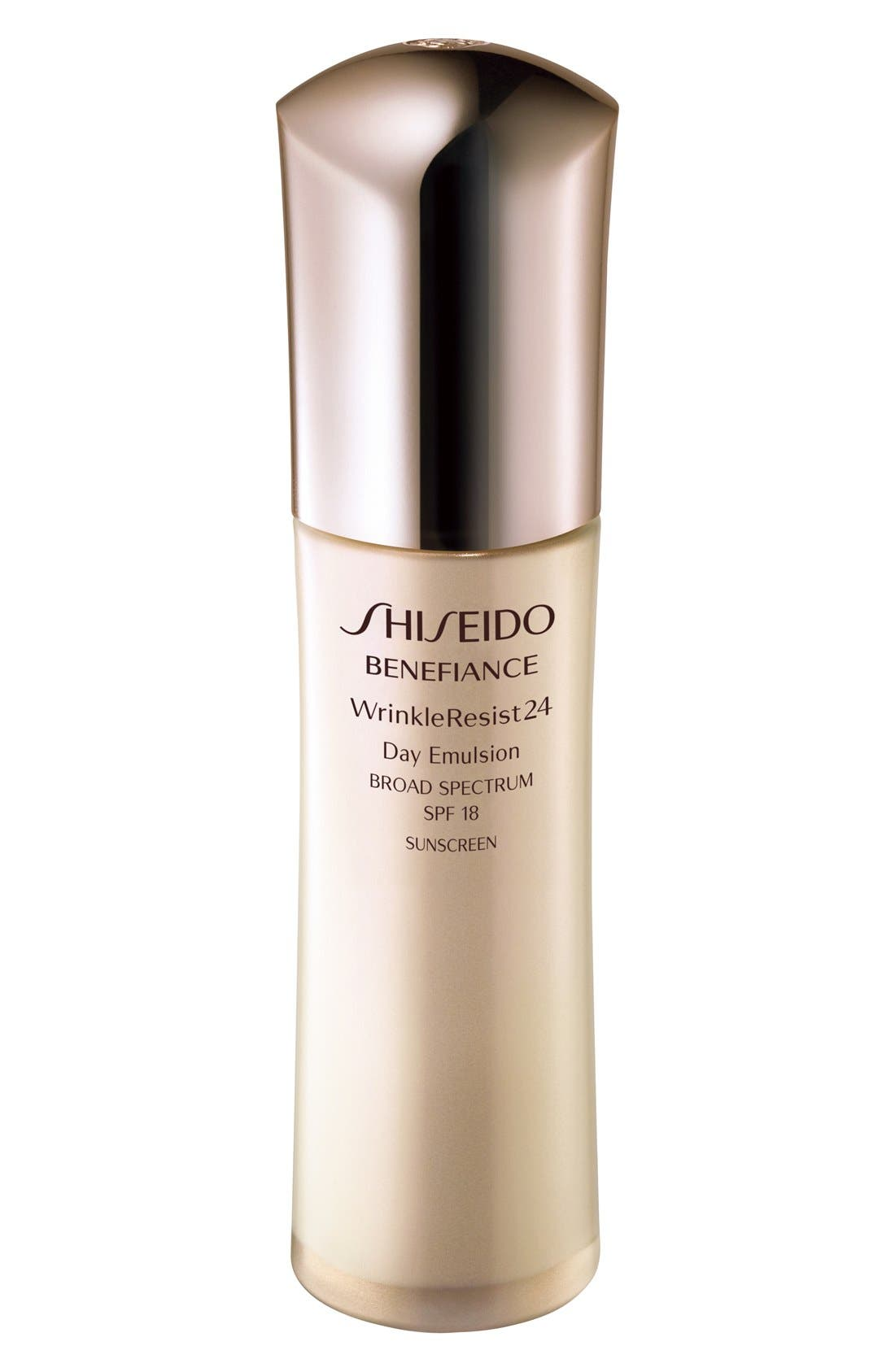Shiseido 'Benefiance WrinkleResist24' Day Emulsion SPF 18