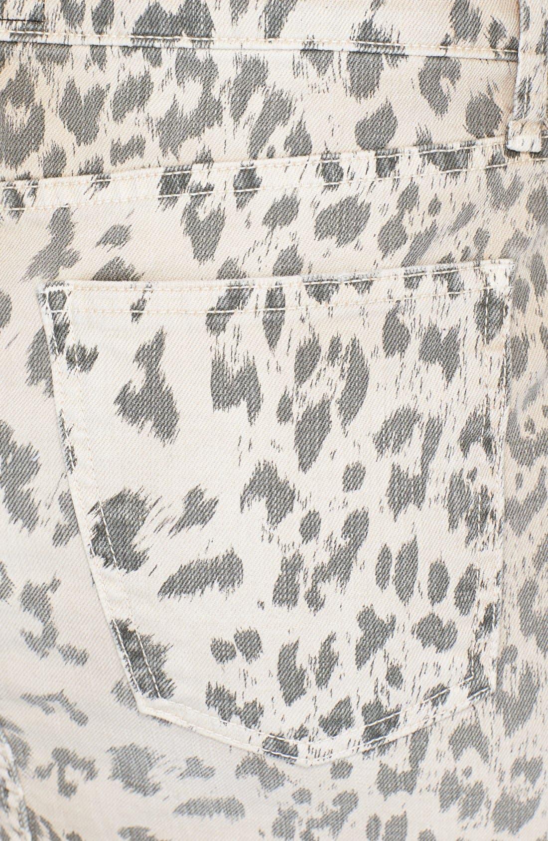 Alternate Image 3  - Current/Elliott 'The Soho' Jean Skirt