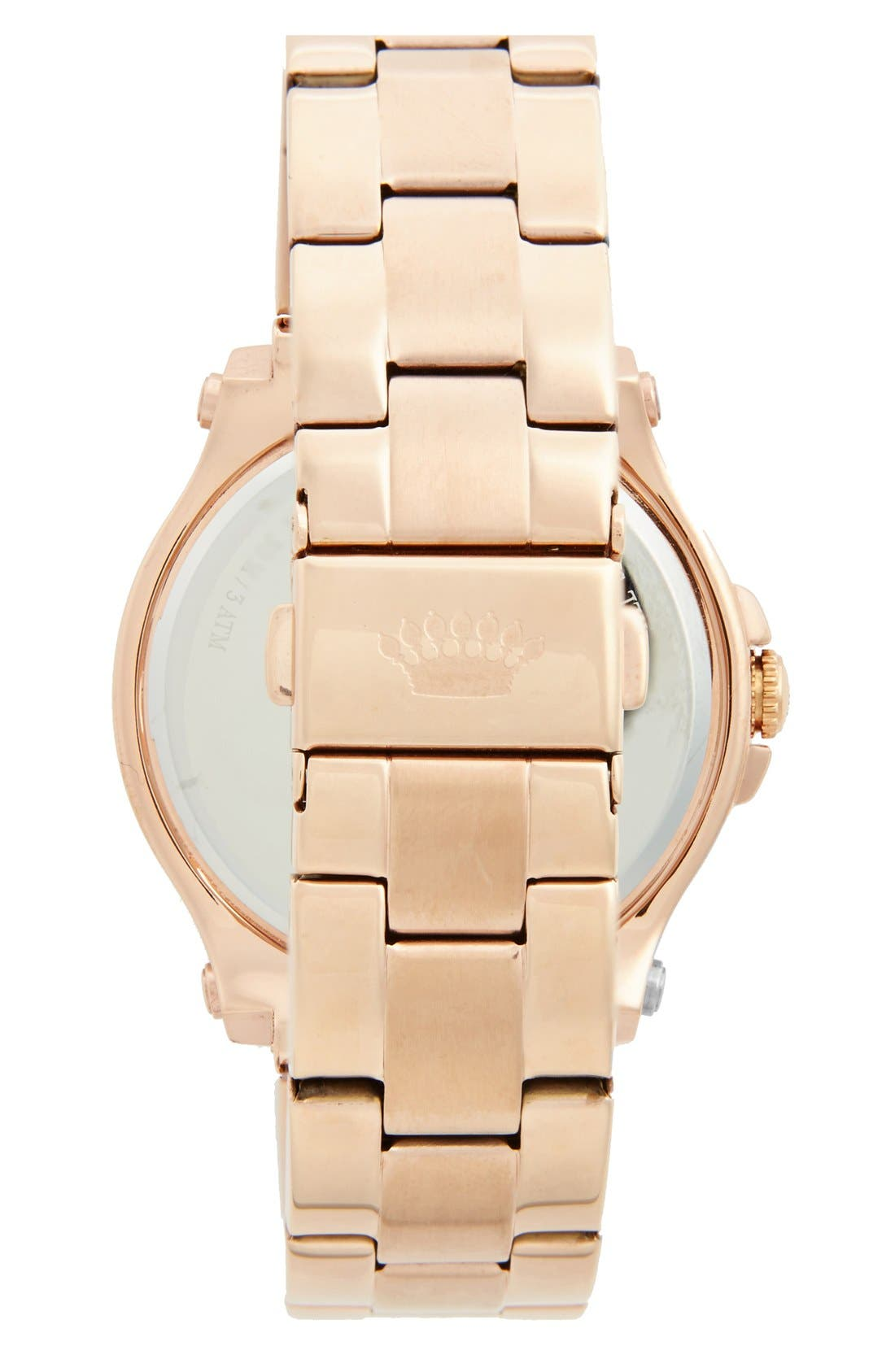 Alternate Image 2  - Juicy Couture 'Pedigree' Multifunction Bracelet Watch, 38mm