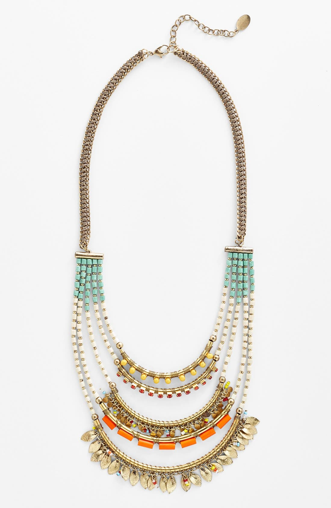 Alternate Image 1 Selected - Spring Street Beaded Multistrand Necklace