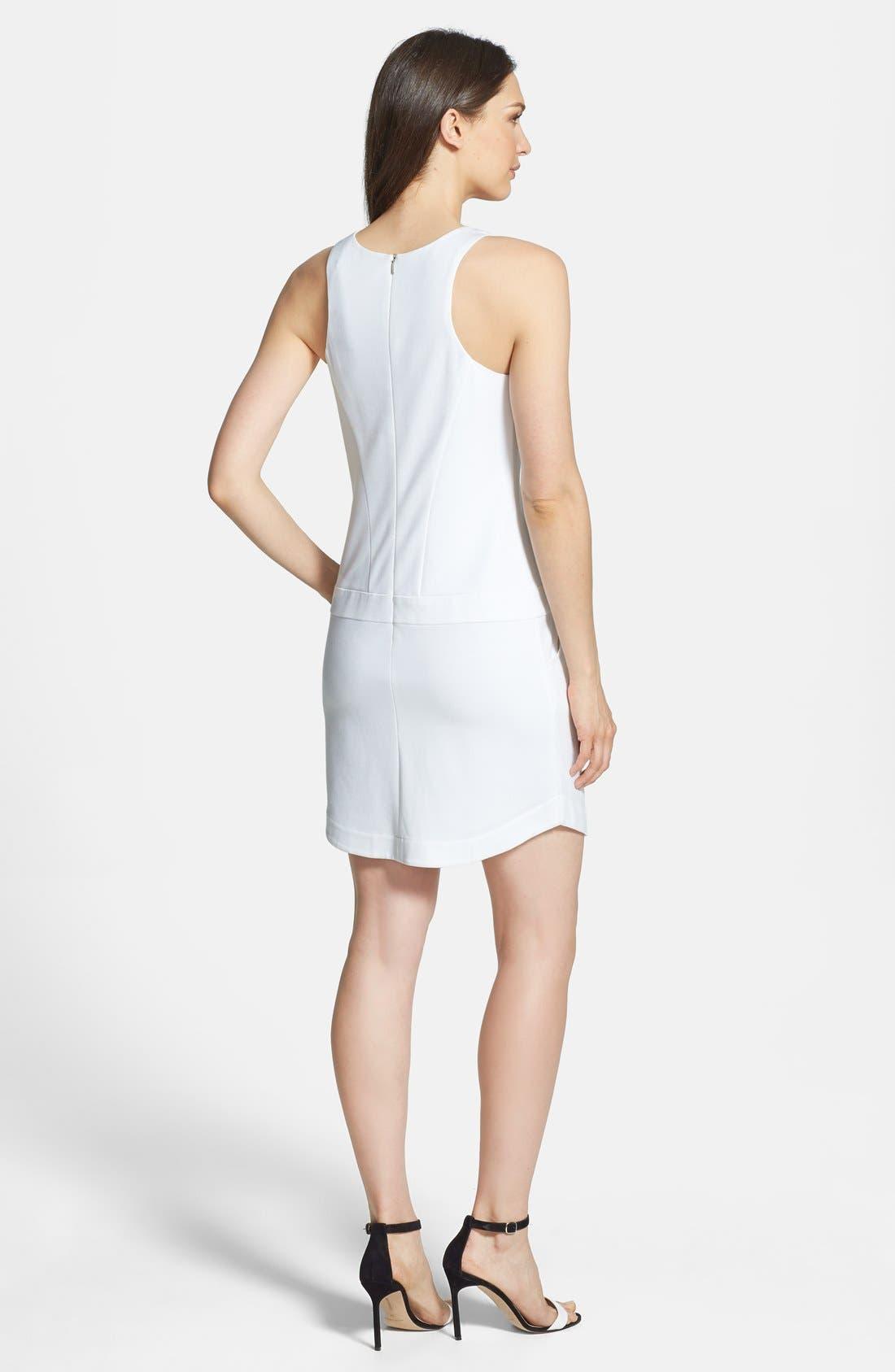 Alternate Image 2  - Trina Turk 'Covina' Ponte Sheath Dress
