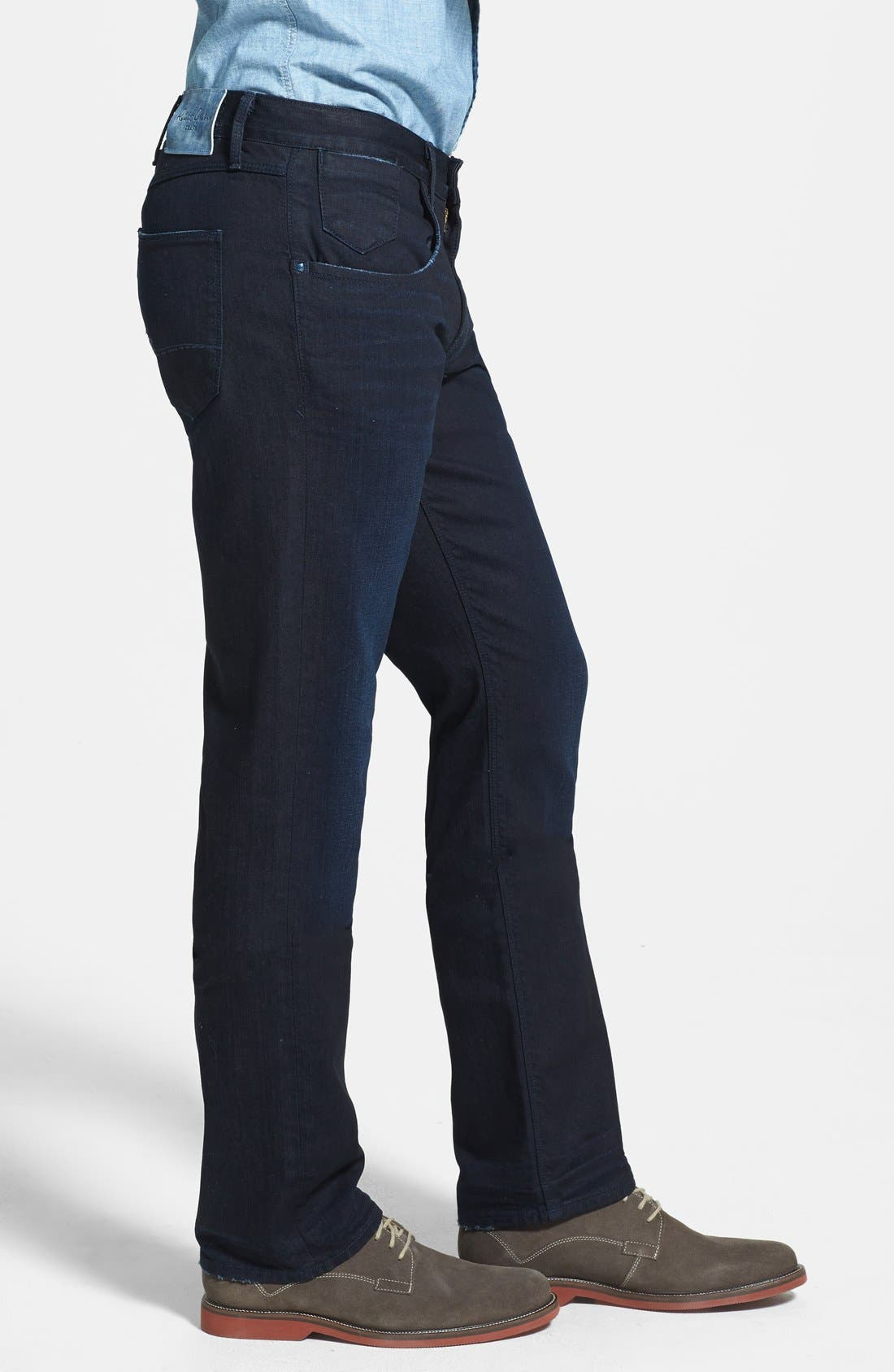 Alternate Image 4  - Robert Graham 'Rocker' Slim Fit Stretch Pants