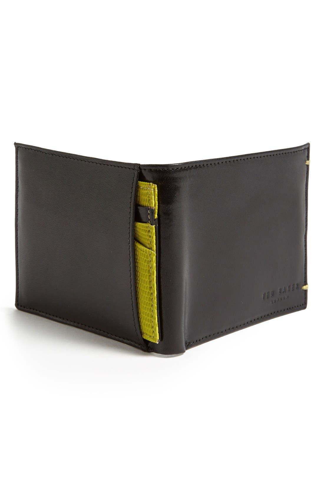 Alternate Image 3  - Ted Baker London Leather Bifold Wallet