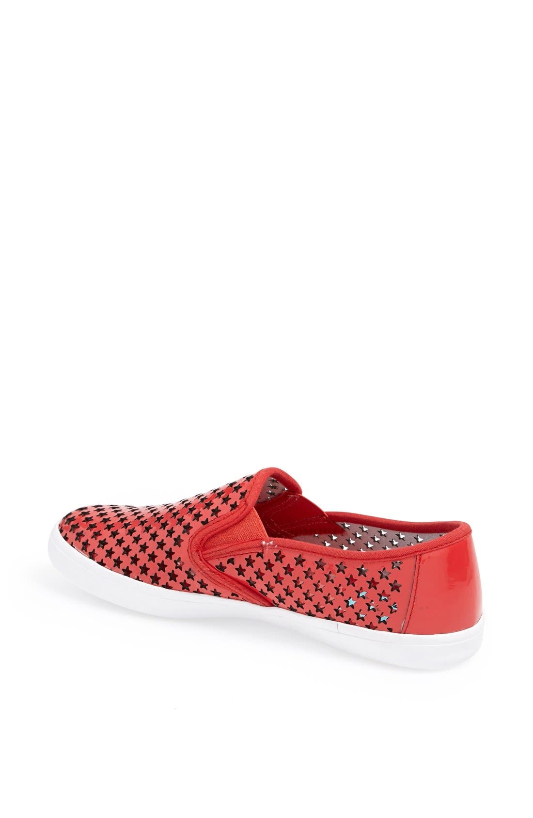 Alternate Image 2  - Jeffrey Campbell 'Dougray' Patent Cutout Slip-On Sneaker