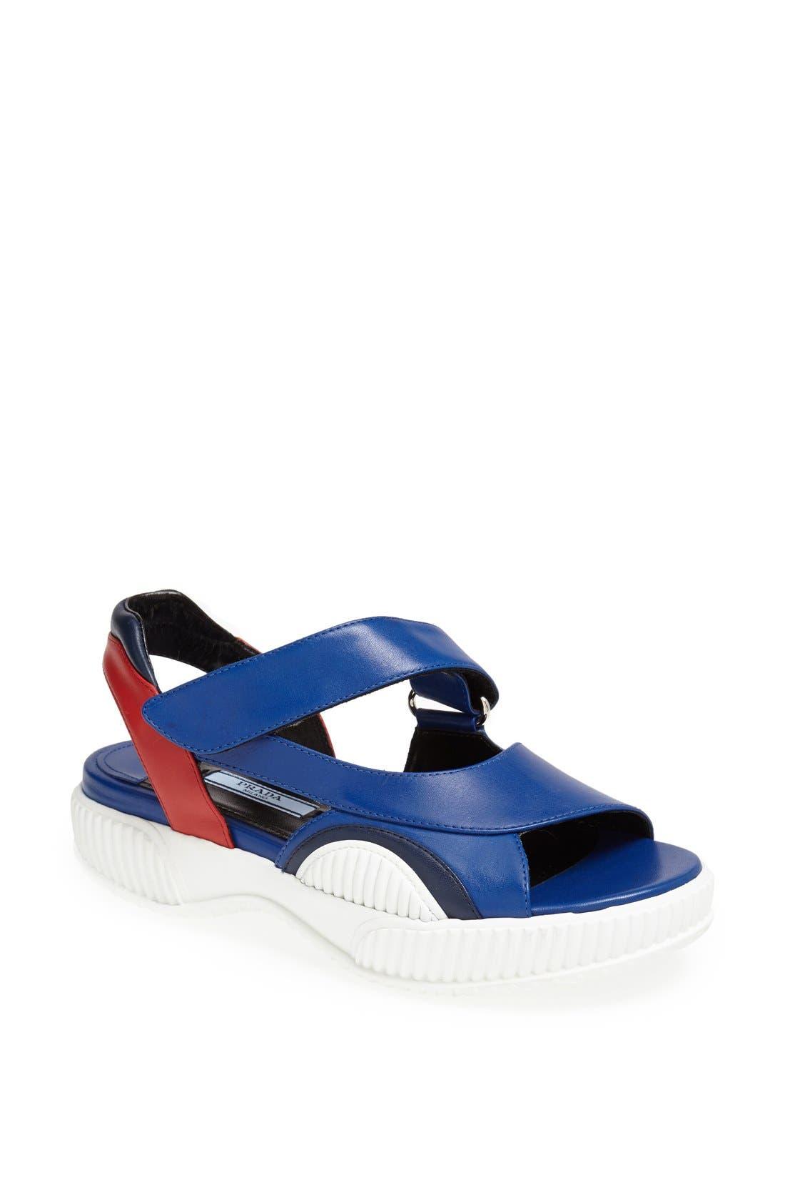 Alternate Image 1 Selected - Prada Sport Sandal