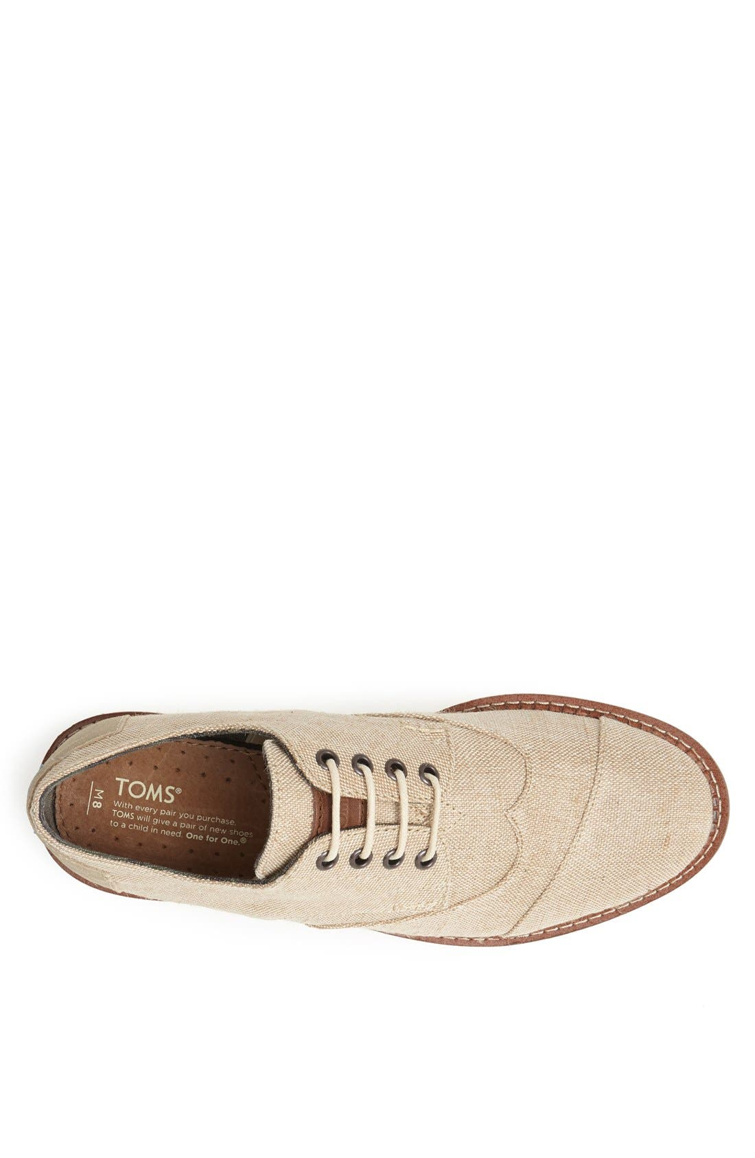 Alternate Image 3  - TOMS 'Brogue' Wingtip (Men)