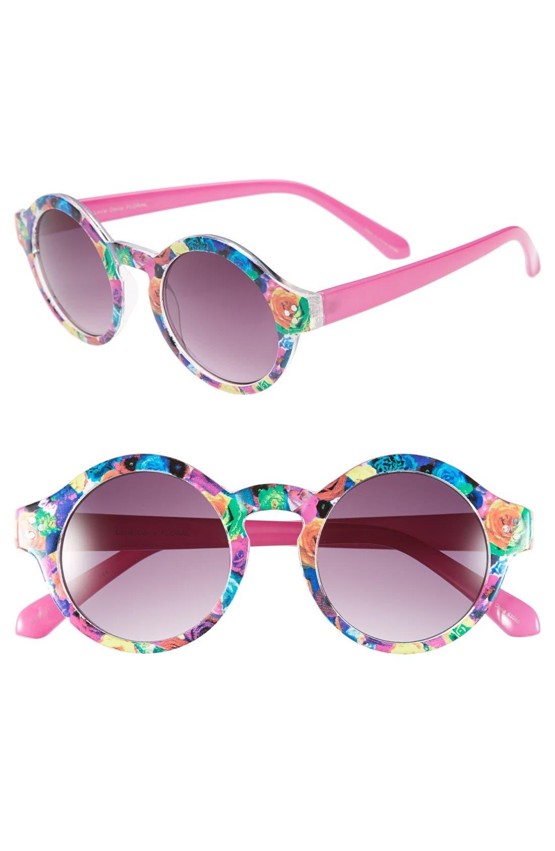Alternate Image 1 Selected - Outlook Eyewear 'Lovie Dovie' 48mm Sunglasses