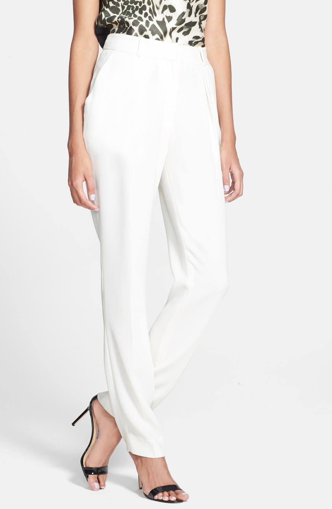 Alternate Image 1 Selected - Diane von Furstenberg 'Dani' Crepe Pants