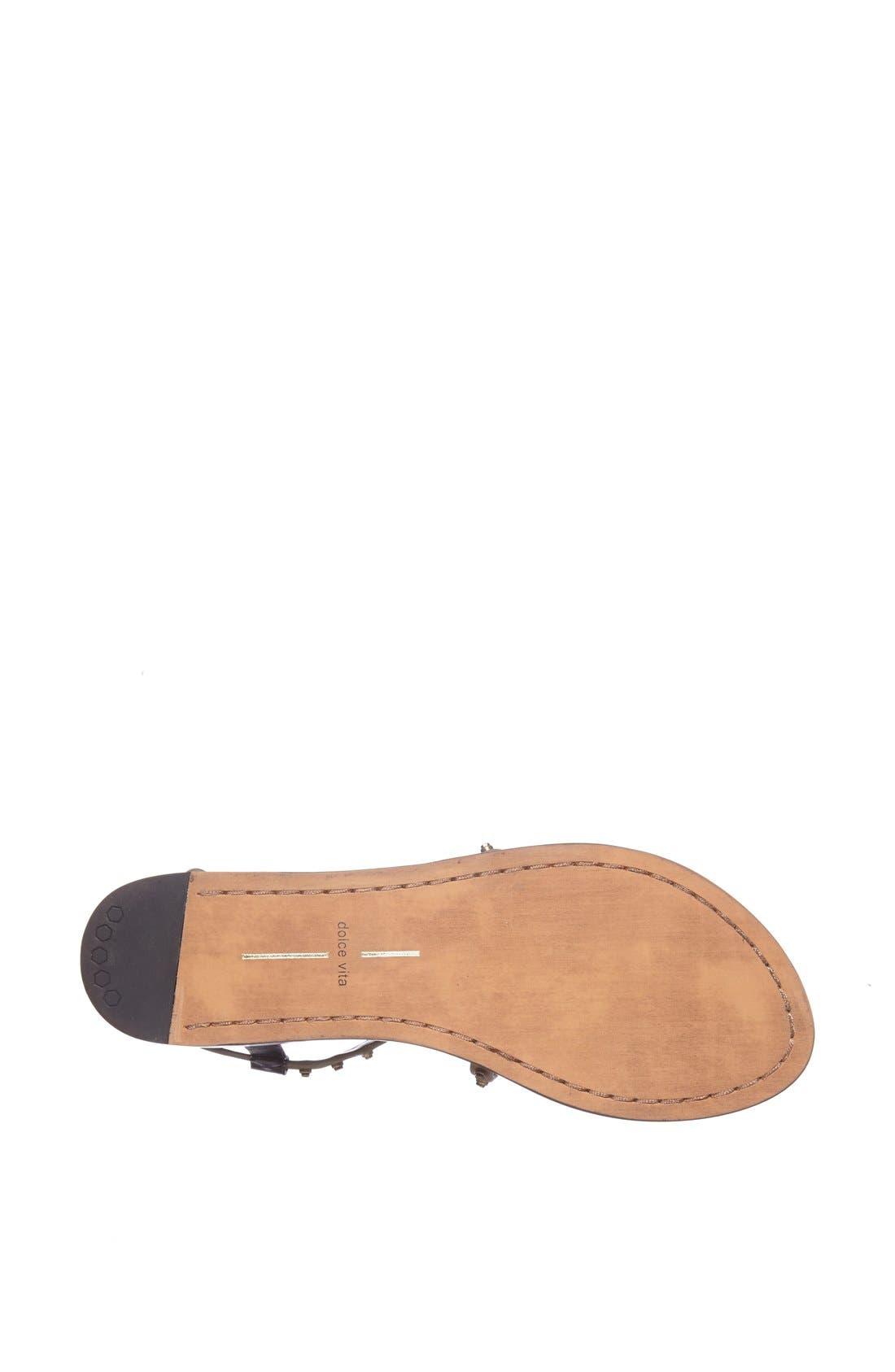 Alternate Image 4  - Dolce Vita 'Flame' Studded Leather Sandal