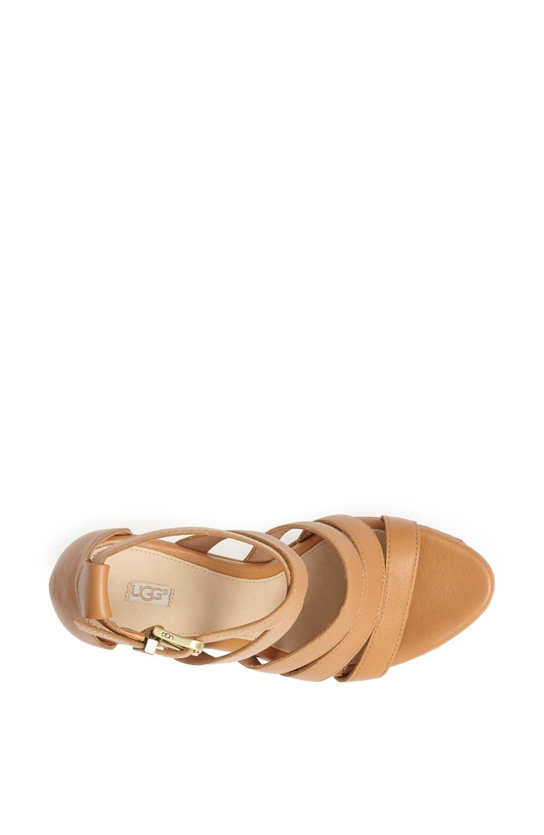 Alternate Image 3  - UGG® Australia 'Dillion' Wedge Sandal