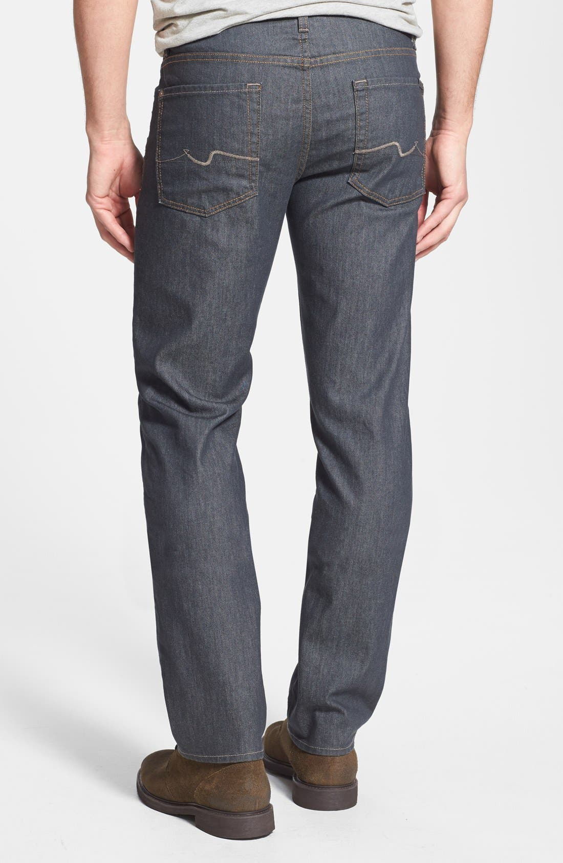 Alternate Image 2  - 7 For All Mankind® 'Slimmy' Slim Straight Leg Jeans (Summer Haze)