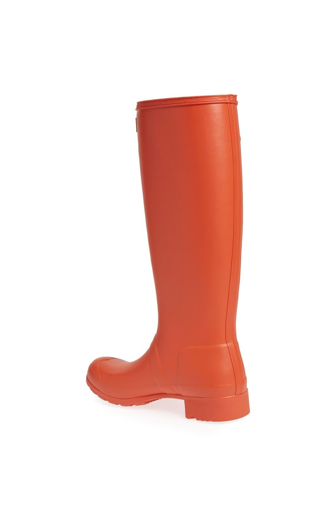 Alternate Image 2  - Hunter 'Tour' Packable Rain Boot (Women)