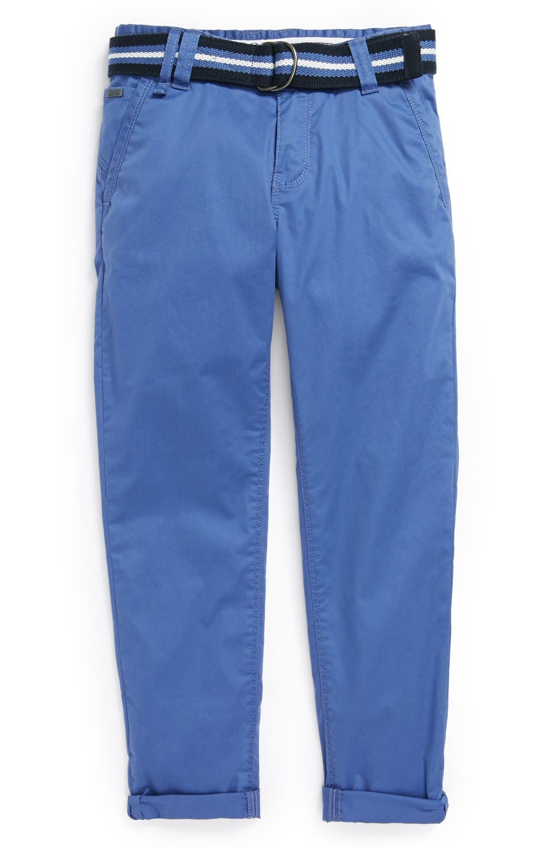 Alternate Image 1 Selected - BOSS Kidswear Twill Chino Pants (Little Boys & Big Boys)