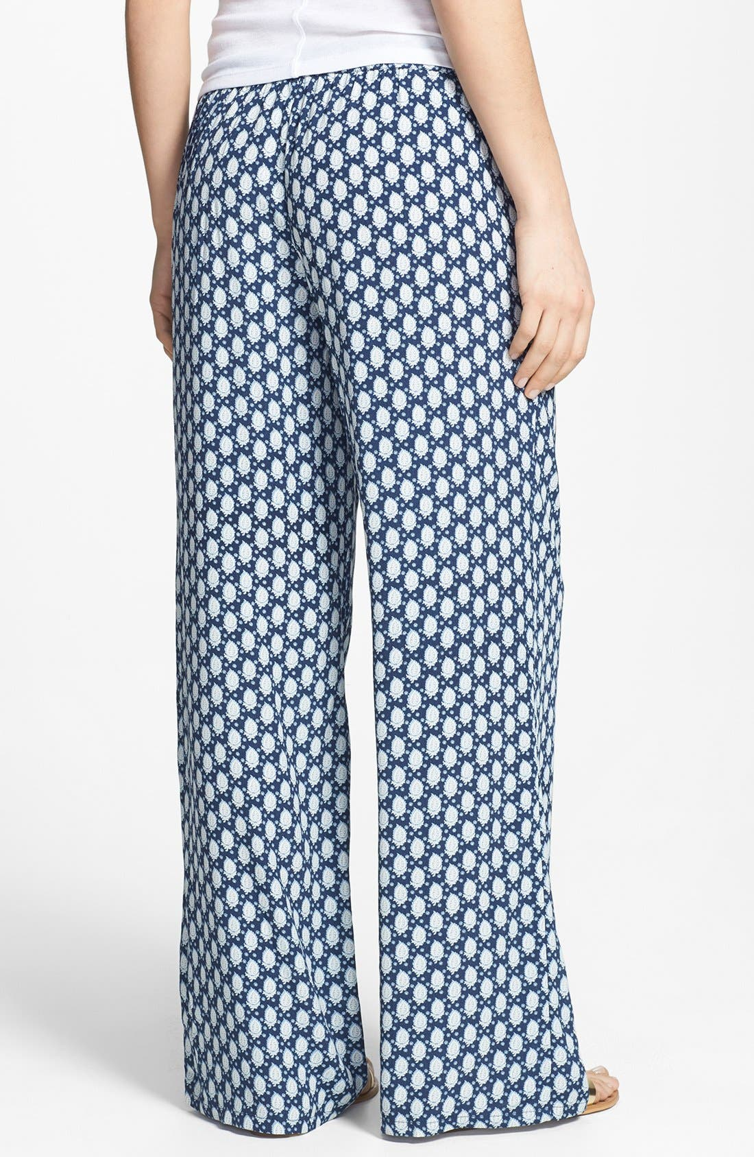 Alternate Image 2  - Soft Joie Floral Pattern Pants