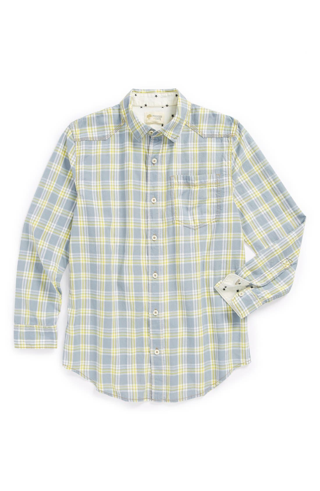 Alternate Image 1 Selected - Tucker + Tate 'Conrad' Plaid Shirt (Big Boys)