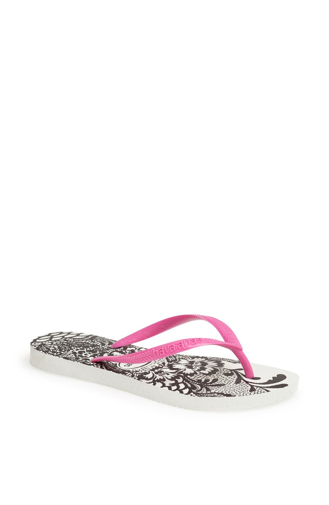 Alternate Image 1 Selected - Havaianas 'Slim Lace' Flip Flop (Women)